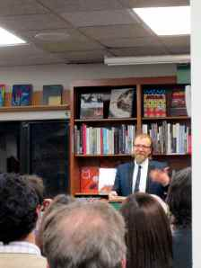 George Saunders reading at Politics & Prose.