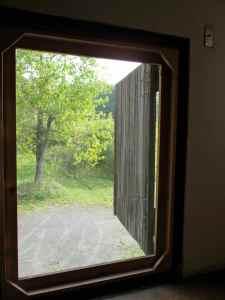 Door from the barn